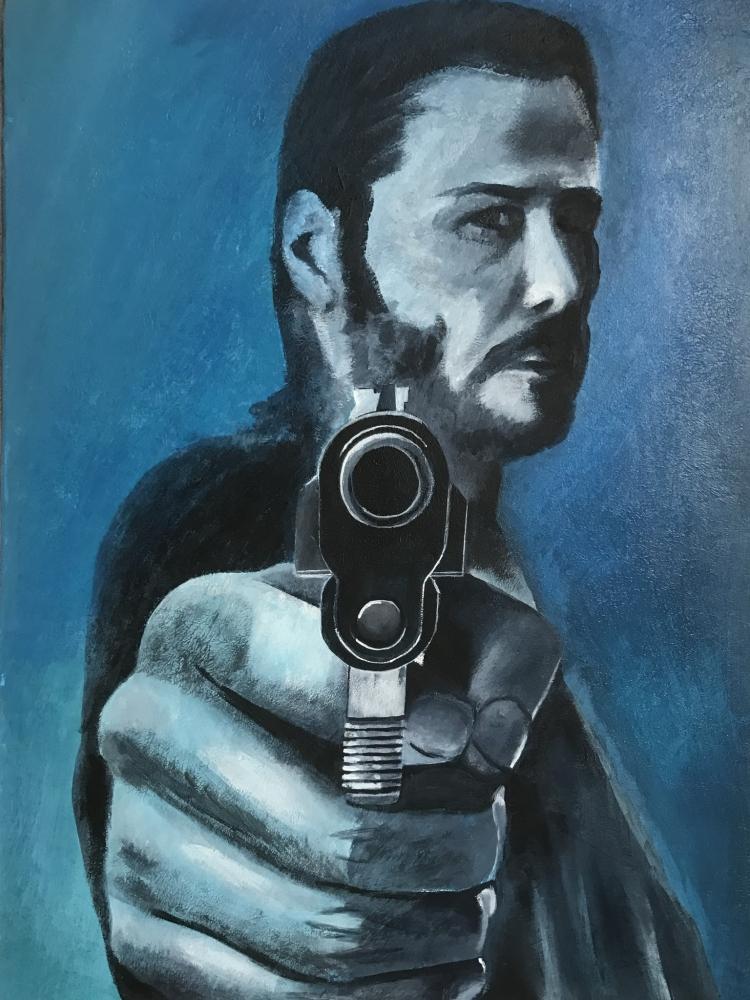 Keanu Reeves por KLARTWORK